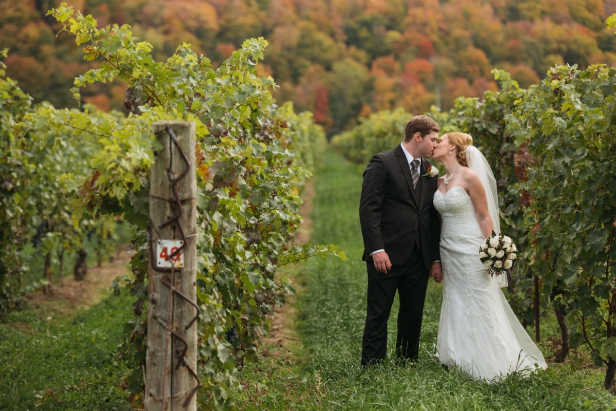 Christine and Mark: fall down on the escarpment