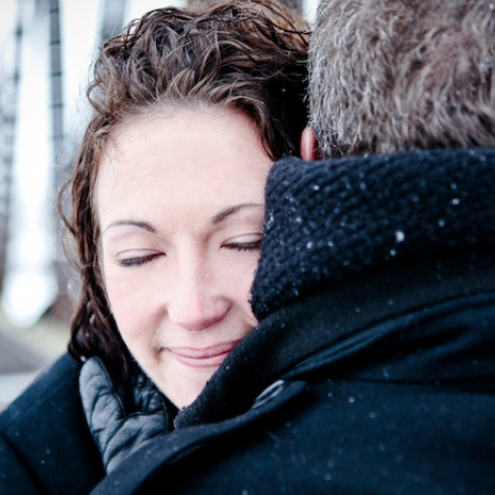 Jon & Shannon: cold day, warm hearts Engagement