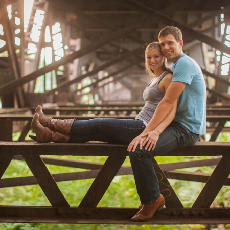 Jaimee and Jonas: just hangin Engagement