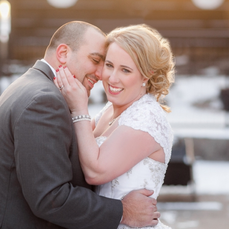 Kara and Kevin: a mid-winter's dream Wedding