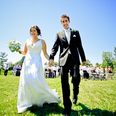 Sam and Justin: an outdoor affair Wedding