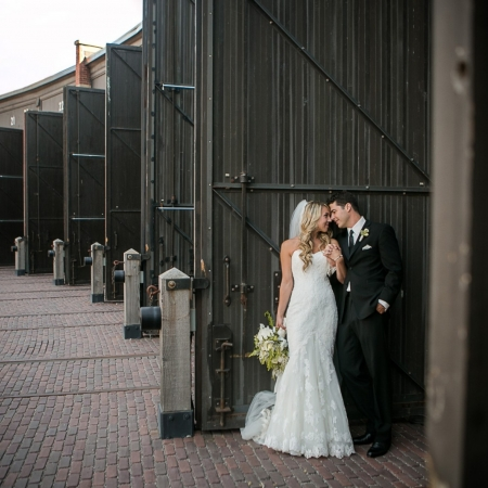 Sara and Matt: a roundhouse wedding Wedding