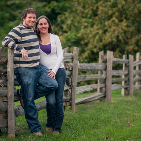 Steve and Sarah: a little bit country Engagement