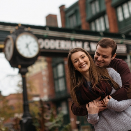 Tara and Michael: Distilled and Chilled Engagement