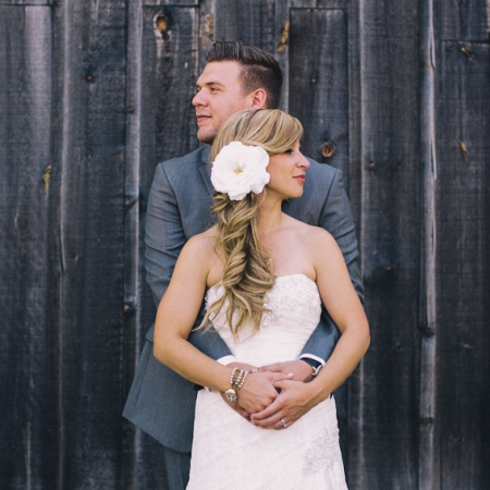 Nathan and Christie: vintage love Wedding
