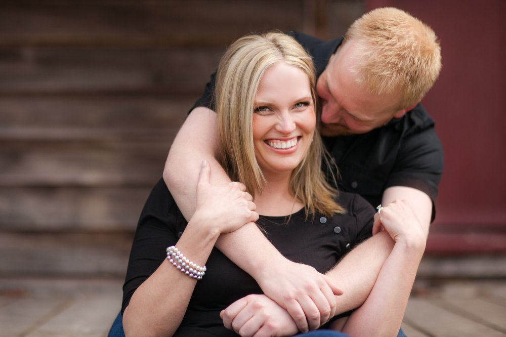 JF Hannigan Photography Engagement Session: Ashley and Paul: running from raindrops 1