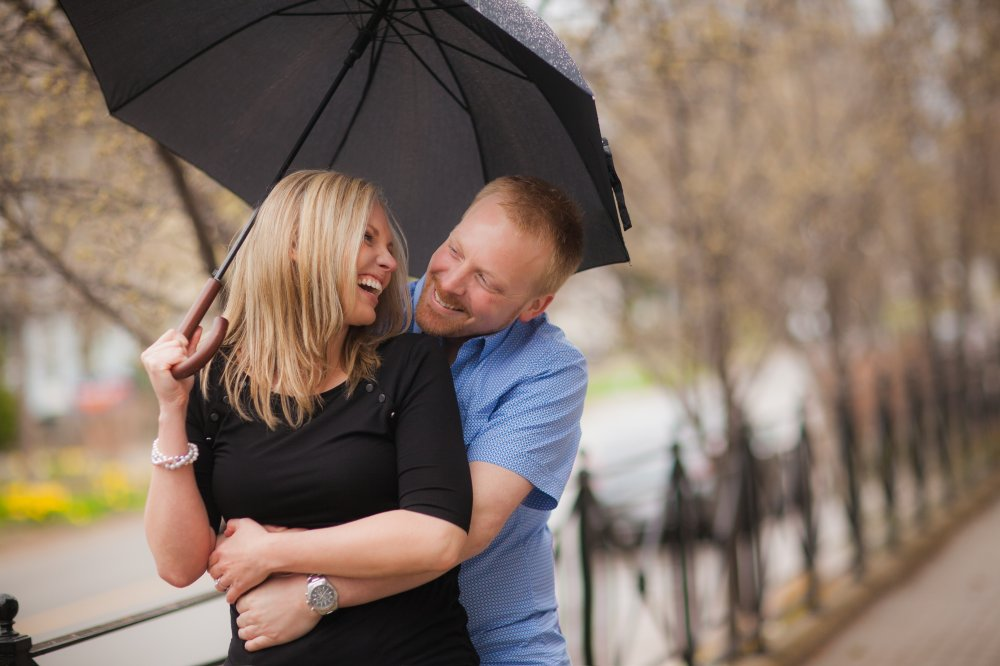 JF Hannigan Photography Engagement Session: Ashley and Paul: running from raindrops 7