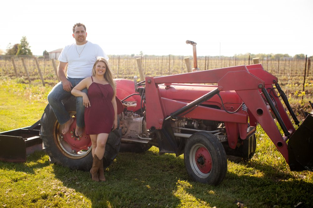 JF Hannigan Photography Engagement Session: Amanda and Matt: elegant farming 11