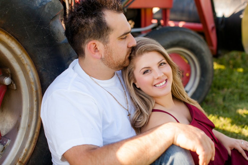 JF Hannigan Photography Engagement Session: Amanda and Matt: elegant farming 13