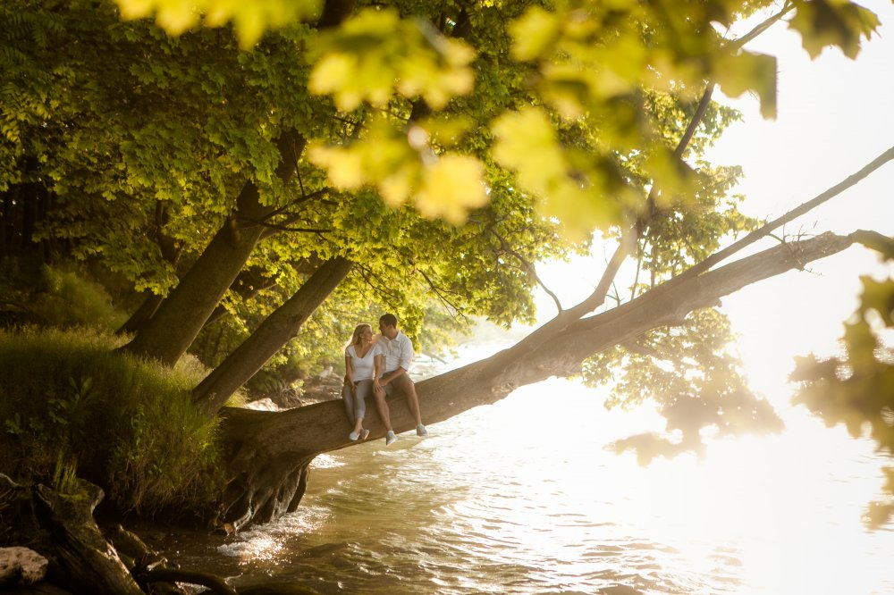 JF Hannigan Photography Engagement Session: Emily and Josh: a walk in the parks 13