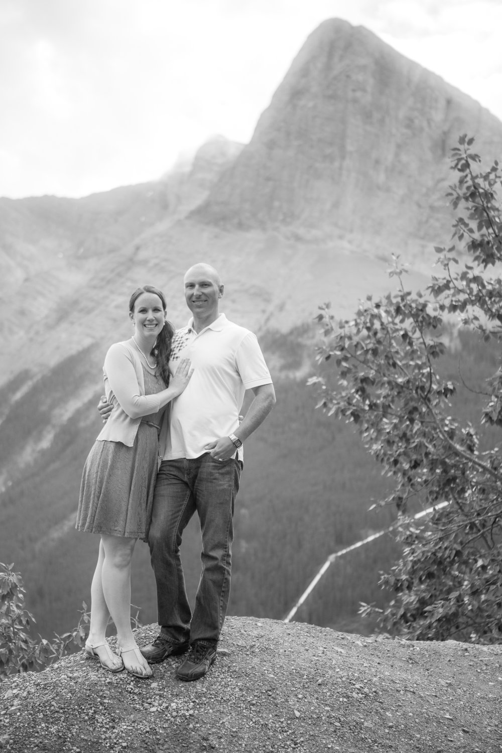 JF Hannigan Photography Engagement Session: Elise and Scott: a morning in the mountains 12