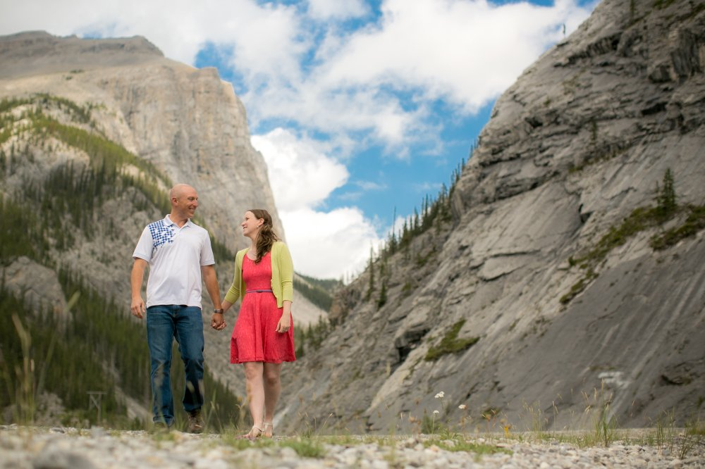 JF Hannigan Photography Engagement Session: Elise and Scott: a morning in the mountains 2