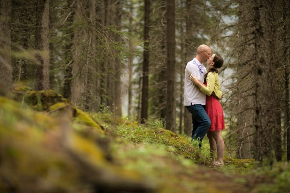 JF Hannigan Photography Engagement Session: Elise and Scott: a morning in the mountains 5