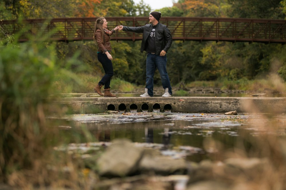 JF Hannigan Photography Engagement Session: Megan and Bryan: dodging rain drops 11