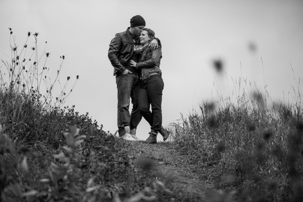 JF Hannigan Photography Engagement Session: Megan and Bryan: dodging rain drops 3