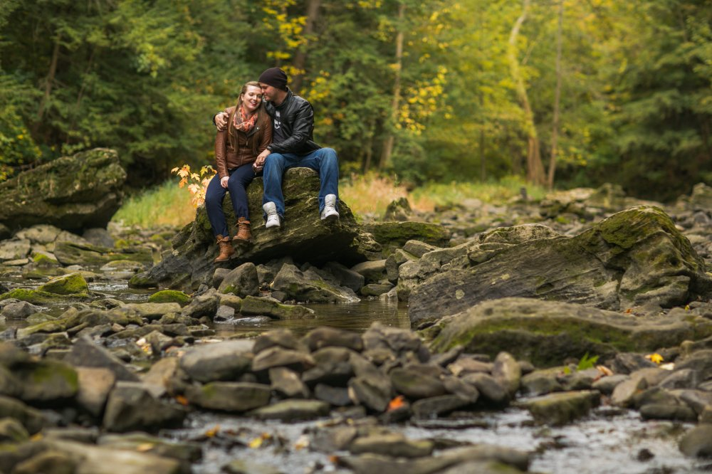 JF Hannigan Photography Engagement Session: Megan and Bryan: dodging rain drops 6