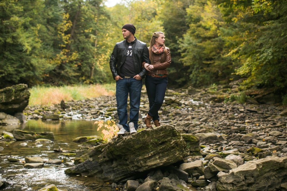 JF Hannigan Photography Engagement Session: Megan and Bryan: dodging rain drops 5