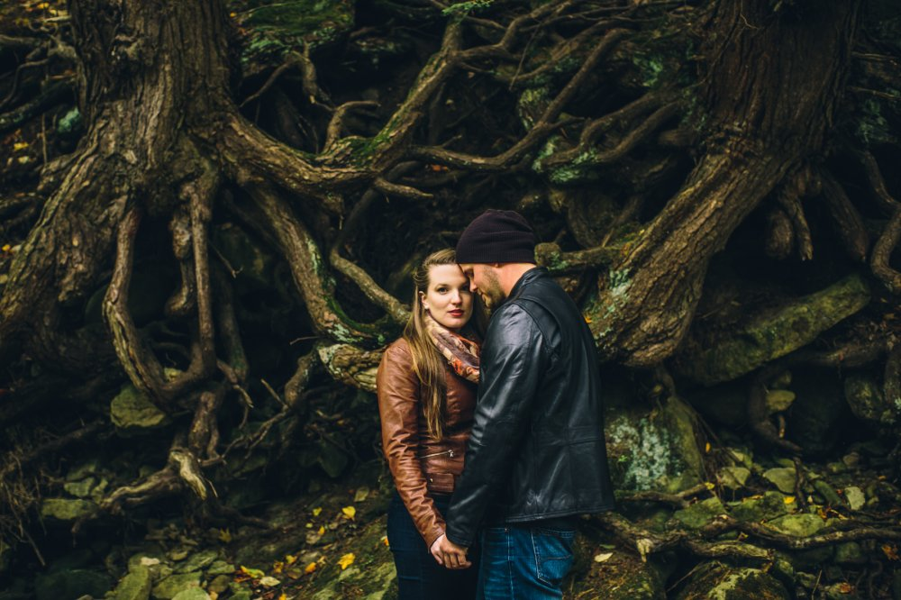 JF Hannigan Photography Engagement Session: Megan and Bryan: dodging rain drops 7