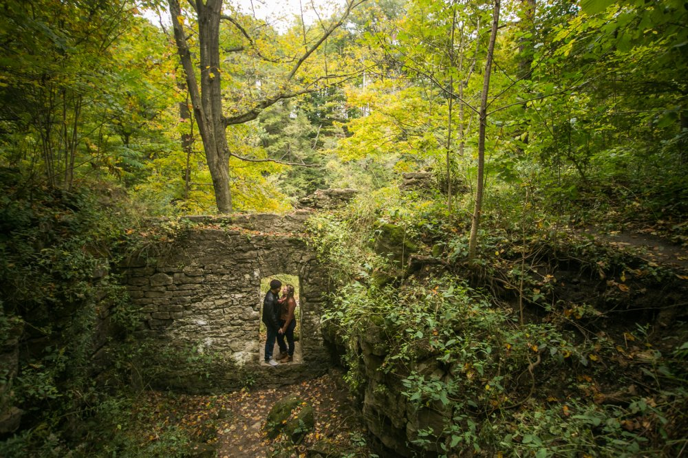 JF Hannigan Photography Engagement Session: Megan and Bryan: dodging rain drops 8