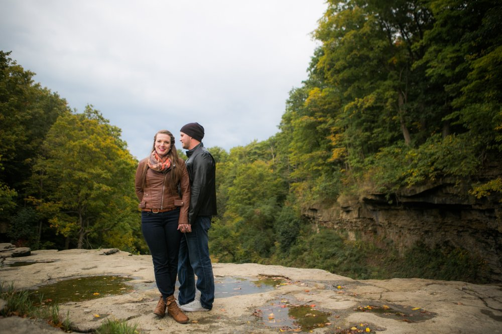 JF Hannigan Photography Engagement Session: Megan and Bryan: dodging rain drops 10