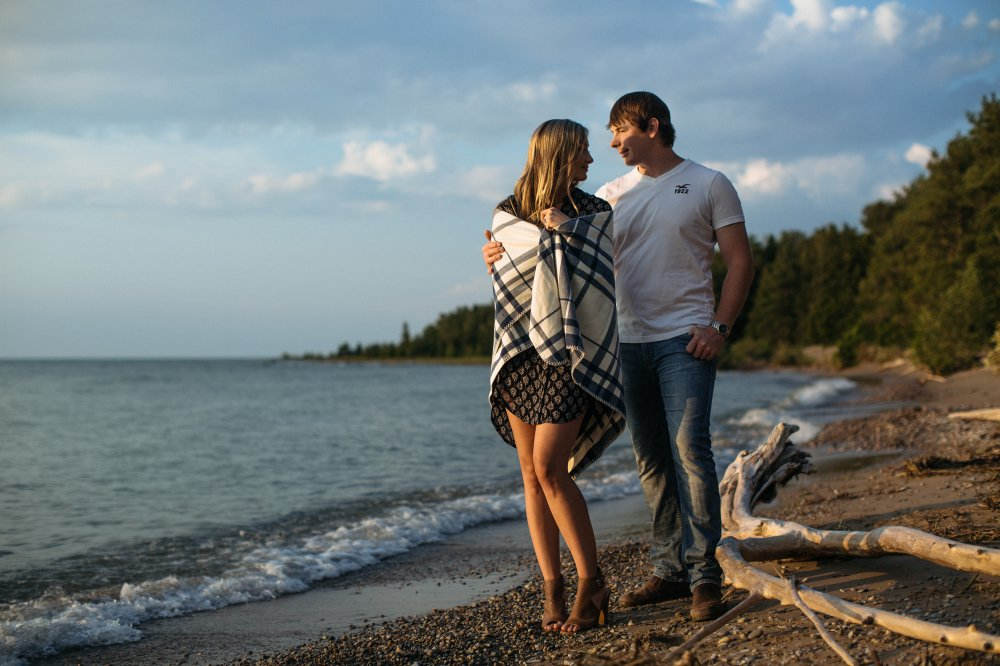 JF Hannigan Photography Engagement Session: Kassandra and Matt: Sunny Saugeen Shores 19