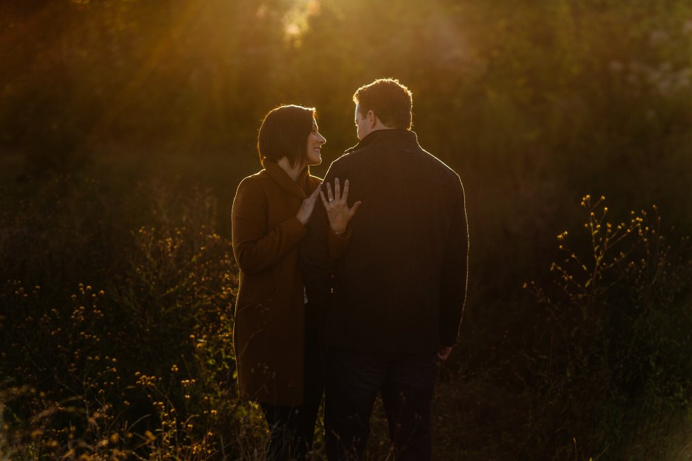 JF Hannigan Photography Engagement Session: Amy and Dave: walking on water 14