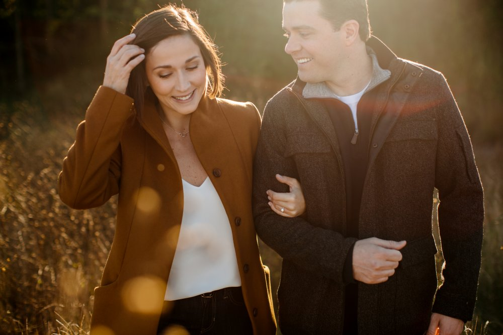 JF Hannigan Photography Engagement Session: Amy and Dave: walking on water 5