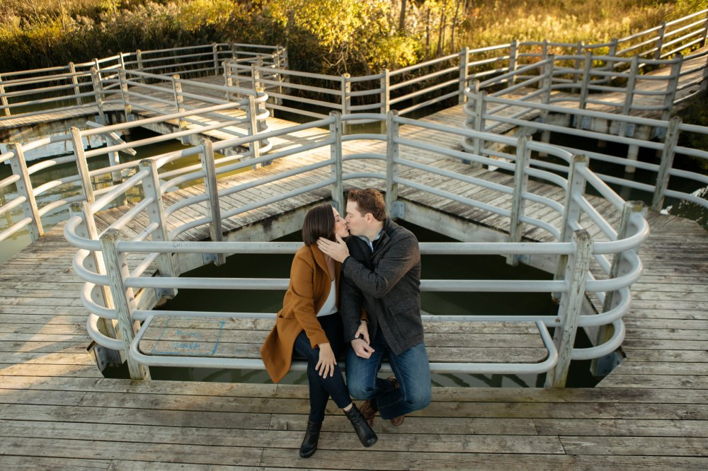 JF Hannigan Photography Engagement Session: Amy and Dave: walking on water 8