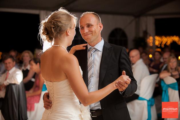 niagara, wedding, photographer, joel, hannigan, legends estate winery, father, daughter, dance, bride