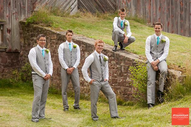 niagara, wedding, photography, joel, hannigan, groomsmen, groom, boys, men