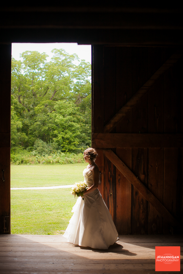 niagara, wedding, photography, joel, hannigan, balls falls, barn, bride