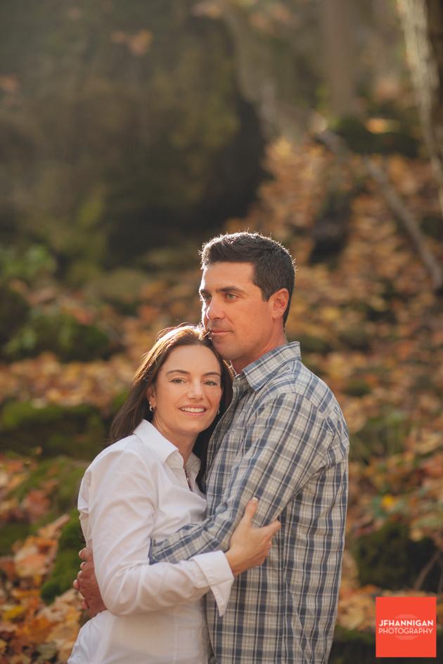 Fall Colours, Niagara Glen, Niagara Parks, Engagement Photo Shoot, Bride and Groom to Be, Niagara Wedding Photographer, Niagara Wedding Photography