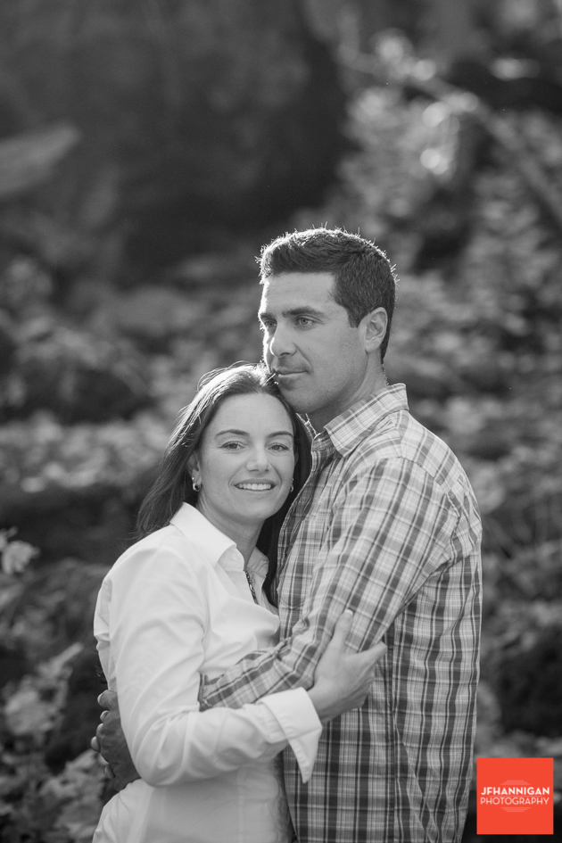 black and white, Fall Colours, Niagara Glen, Niagara Parks, Engagement Photo Shoot, Bride and Groom to Be, Niagara Wedding Photographer, Niagara Wedding Photography