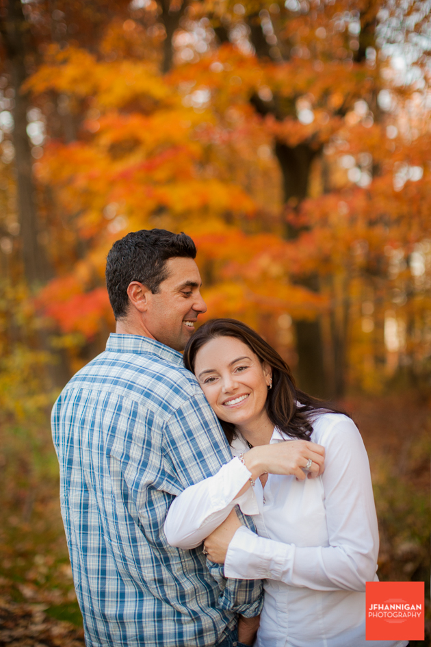 leaves, Fall Colours, Niagara Glen, Niagara Parks, Engagement Photo Shoot, Bride and Groom to Be, Niagara Wedding Photographer, Niagara Wedding Photography