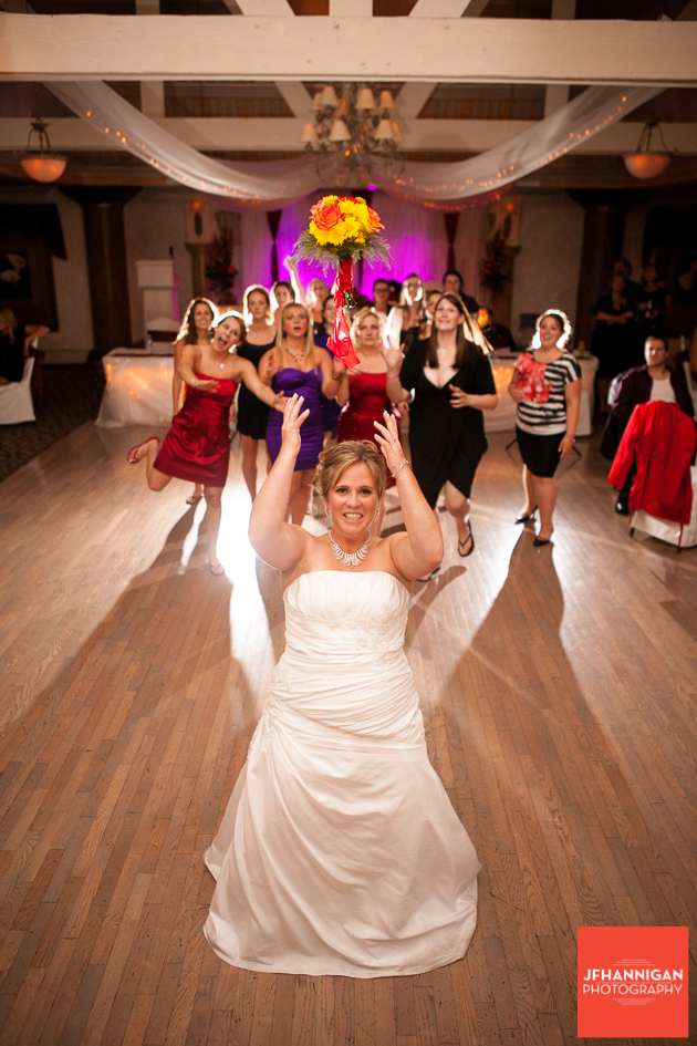 Bridal Bouquet toss