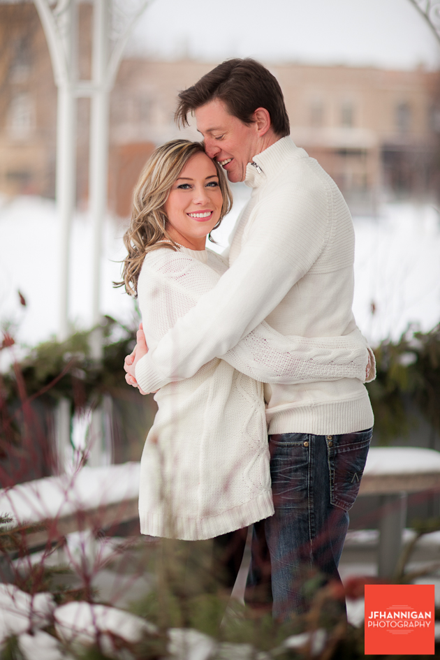 Christmas Engagement shoot Niagara Wedding Photographer