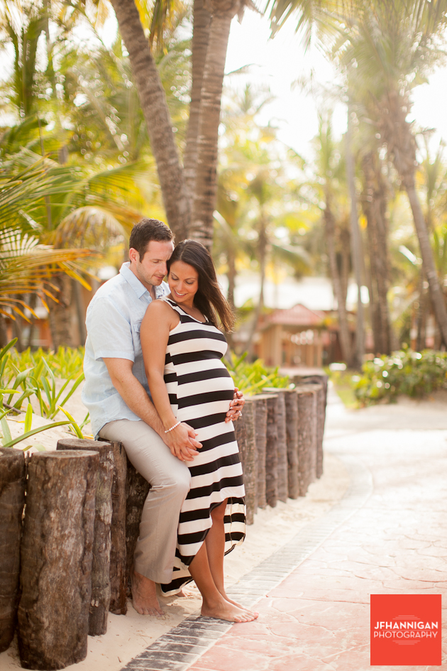 maternity shoot in Punta c