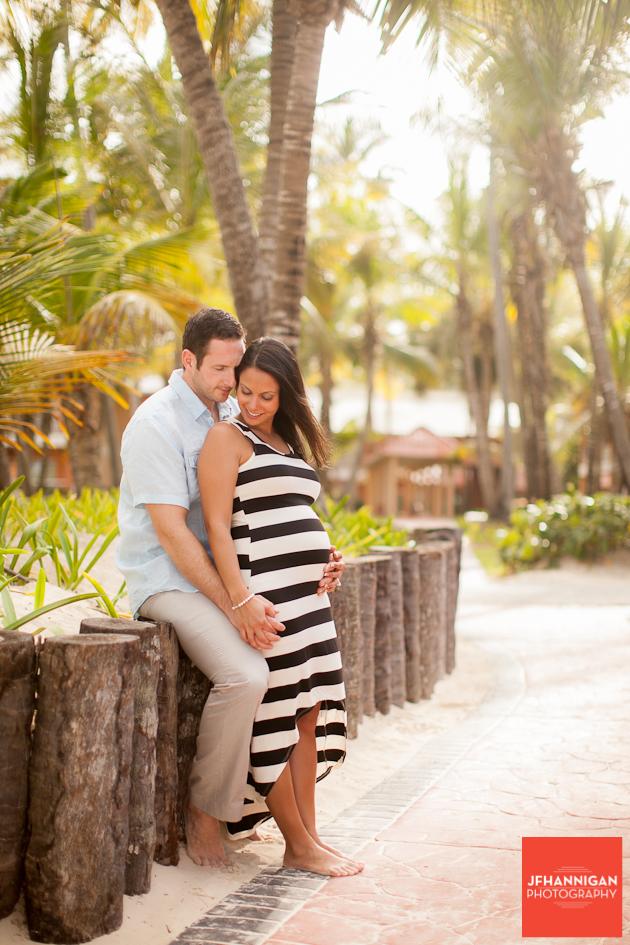 maternity shoot in Punta c