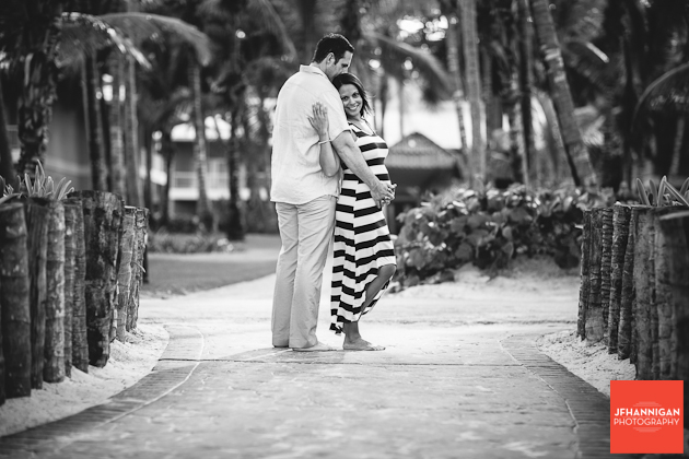 maternity shoot in Punta Cana