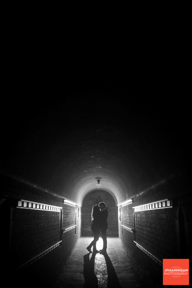 archway, black and white, alley, Ridley College, Engagement Photo Shoot, Bride and Groom to Be, Niagara Wedding Photographer, Niagara Wedding Photography