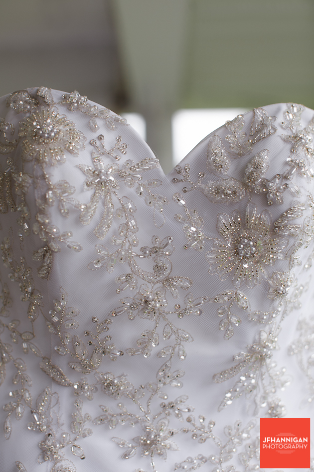 bridal gown top