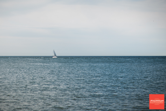 sail boat out in the water