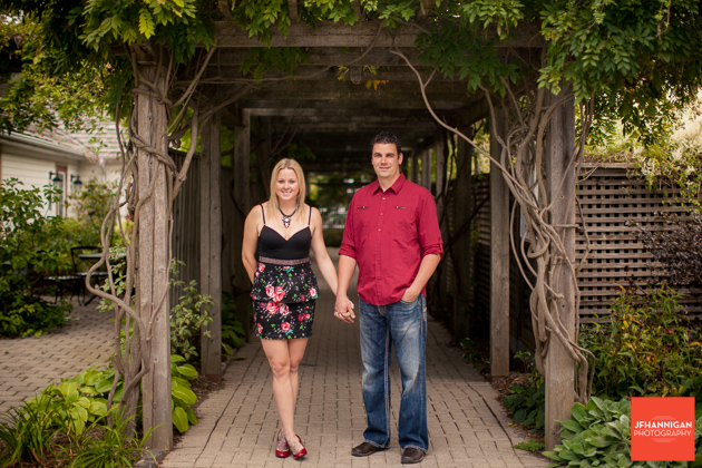 pergola, vines, Portraits, Couple Portrait Session, Niagara Wedding Photographer, Niagara Photographer
