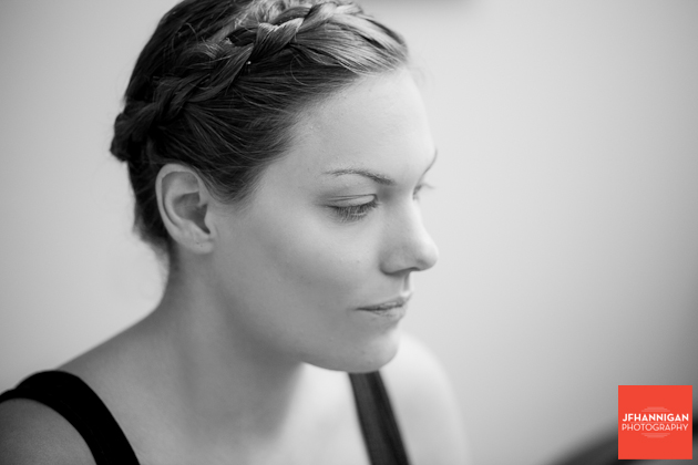 braided hair wedding day prep Niagara Wedding Photographer