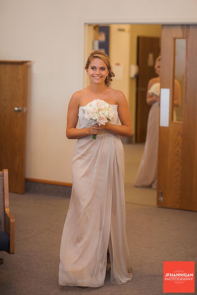 bridesmaid entrance