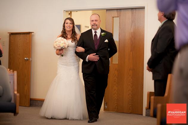 entrance of bride