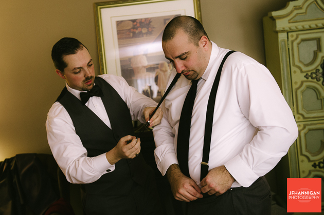 groom's suspenders