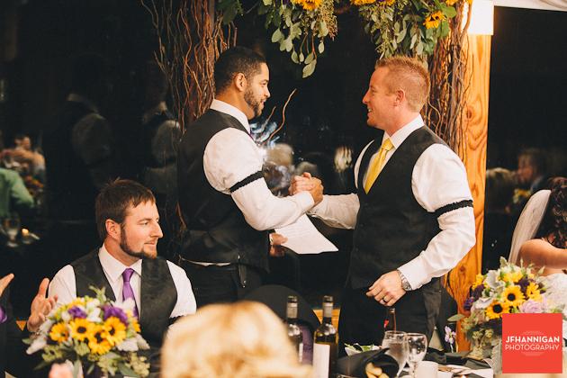 groom and usher