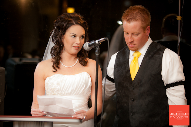 bride's speech at wedding reception