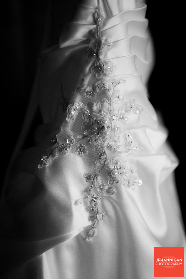 bridal gown bead work